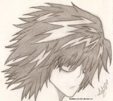 Death Note- ::.Lawliet.:: by RosaSkaterFletCher