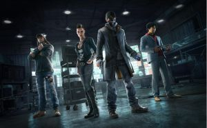 Watch_Dogs Characters Wallpaper by TheGrzebolable