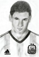 Lionel Messi - Argentina by ColoredRose