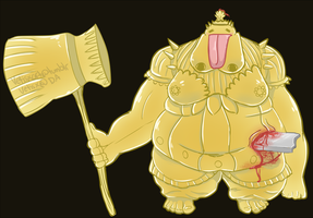Adjudicator Smough by Vetisx