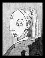 Girl With A Pearl Earring by M-Everham