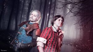 The Witcher 3 - Vesemir and Eskel Cosplay by Tinkerer-Works