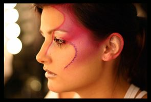 Fairy make-up. by gnawer
