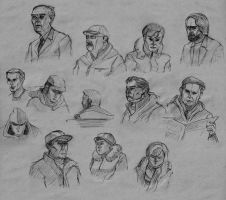 Faces by AGRbrod