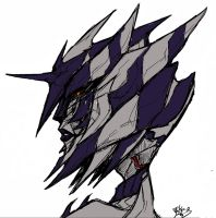 Colored Ravenwing Sketch by DemoniconNemesis