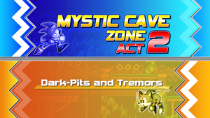 Sonic 4 Ep. 2 Zone Tile - Mystic Cave by Sonicguru