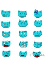 The Many Faces Of Ivysaur by moltres93