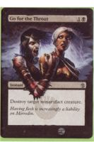 Go for the throat card alter 3 by propsofprophecy