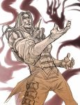 Namtar the vampire by Brolo