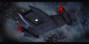 Star Trek MantaRay Class by AdamKop