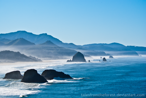 Misty Cannon Beach by TalesFromTheForest