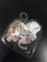 Tigeedemon heart badge by XxPuppyProductionsxX