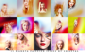 15 Dakota Fanning icons by ChantiiGG