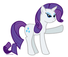 Rarity Fanart by Rin-Claymore