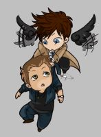 I Gripped you tight ... by Supernatural-Fox
