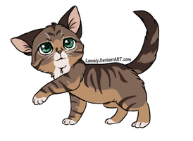 Kitty for adoption_ CLOSED by LewKat