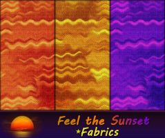 Feel the Sunset - Fabrics by allison731