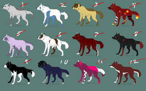 5 point adopts(1 left) by AerithsAdopts
