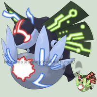 Fakemon Lustron by mssingno