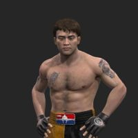 Kyo Kusanagi EA Sports MMA by BlueWolfRanger95