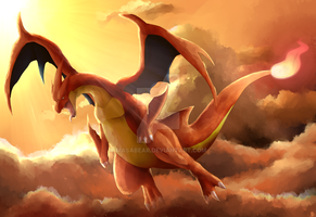 Charizard Y by MasaBear
