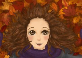 Autumn girl by ByJasmine