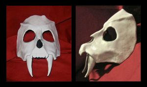 Pantherghast Mask by MummersCat