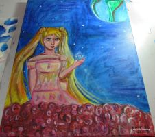 Watcher of the Earth-Sailor Moon Fan Art by AlwysbCreative