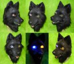 Wolfs Rain - Darcia Head by DrakonicKnight