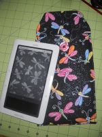 Dragonfly Nook Cover Case by Celtic-Dragonfly