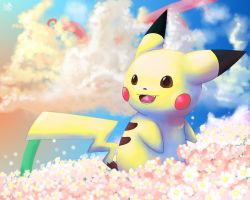 Pikachu by Pand-ASS