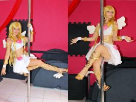 Panty Angel - Pole Dance Cosplay by MishiroMirage