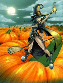 Pumpkin Patch By Nehi (COLORS) by carol-colors