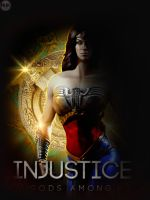INJUSTICE Wonder Woman Poster by NHKkyo