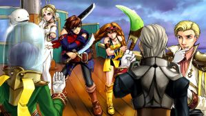 Skies of Arcadia: Battle Ready by Gondalier