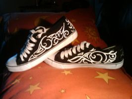 Converted Converse by Red-Devil-Team