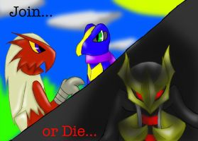 Join or Die by Gallade100