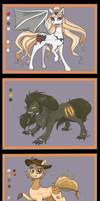 Halloween MLP Auction Adoptables CLOSED by ArgentumZeena