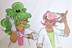 Jaderoxy - science babes by IrLeerah