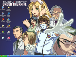 Trauma Center desktop by ShimaGenki