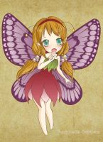 Chibi butterfly by PoulpinetteCreations