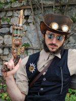 Steampunk Photograph 007 by Steam-HeART