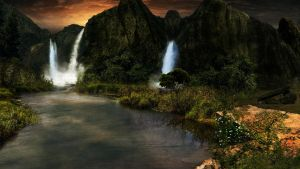 Matte Painting by sweetan008
