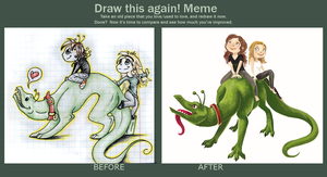 Draw this again! Meme by GrayPaint