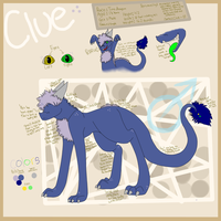 2012 Clue Reference Sheet by RainingRaven