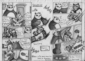 Kung Fu Panda Comic Cp. 1 page 9 and 10 by NeoMakusha