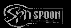 Spoon ASCII by roy-sac