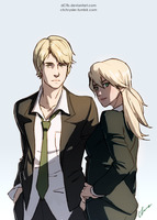 Dimitri and Kati by dCTb