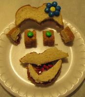 Even More Fun with Lunch - Sandwich Artistry by technodrumguy