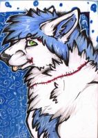 ACEO Patchy by Crimson-Asylum